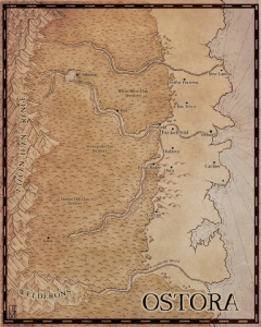 Map of Ostora (Tooth and Blade)